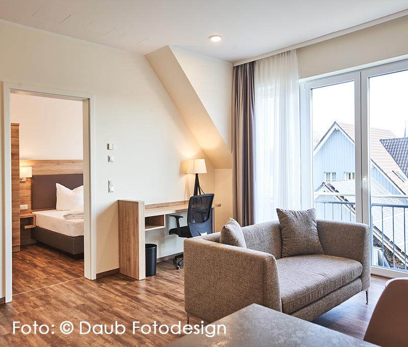 Hoteleinrichtung-Zimmer-Apartment
