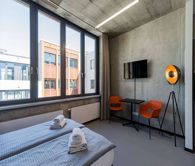 Hotel-Einrichtung-Zimmer